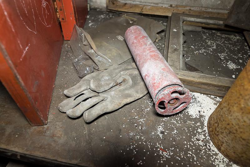 Miner's glove left behind in Mine 2B