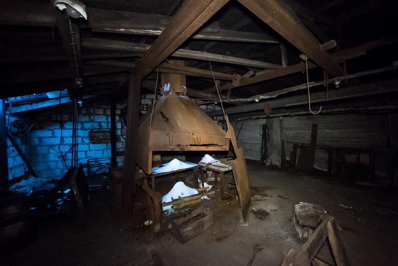 Perhaps a furnace, found inside Mine 2B.
