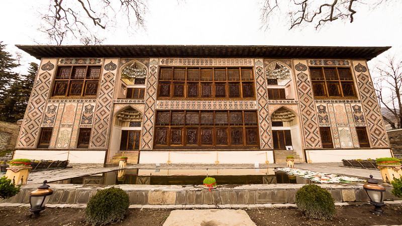 Palace of the Shaki Khans, Sheki Azerbaijan.